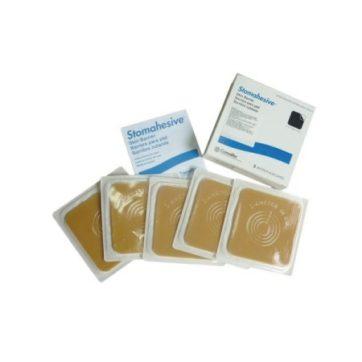 BARRERA LISA STOMAHESIVE® 10X10 CM, C/5 PIEZAS (3)